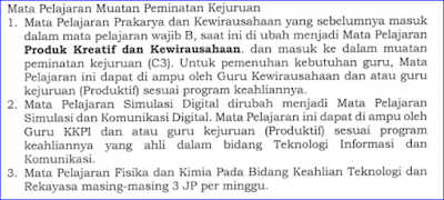 Download Spektrum Keahlian PMK dan Struktur Kurikulum (Perbidang Keahlian + Program 4 Tahun) SMK Tahun Ajaran 2017/2018