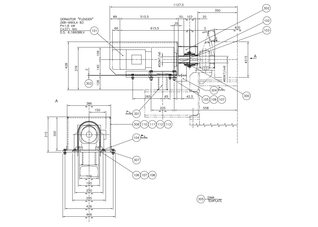 hvac cad drawings