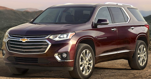 2018 chevrolet traverse review cars authority. Black Bedroom Furniture Sets. Home Design Ideas