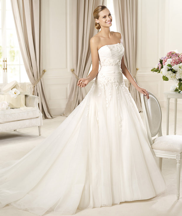 Pictures Of Wedding Gowns 2013: Cheap Wedding Gowns Online Blog: Pronovias 2013 Bridal