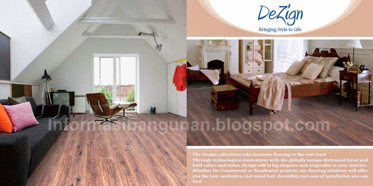 DEZIGN Laminated Flooring