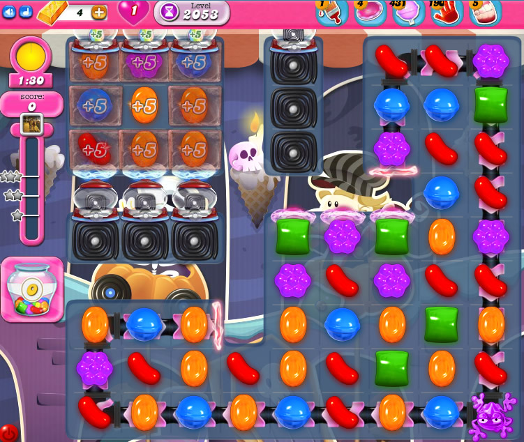 Candy Crush Saga 2053