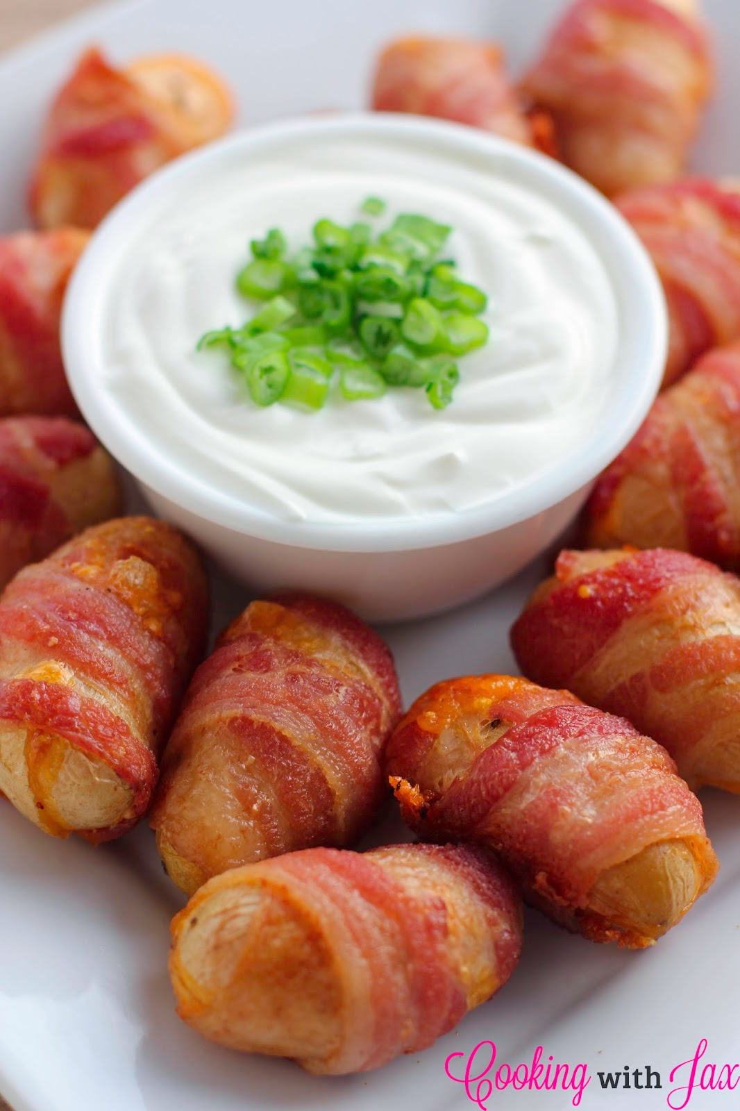 easy appetizers for a party cooking with jax cheddar bacon potato bites 30686