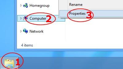 Windows 8 Remote Desktop Connection