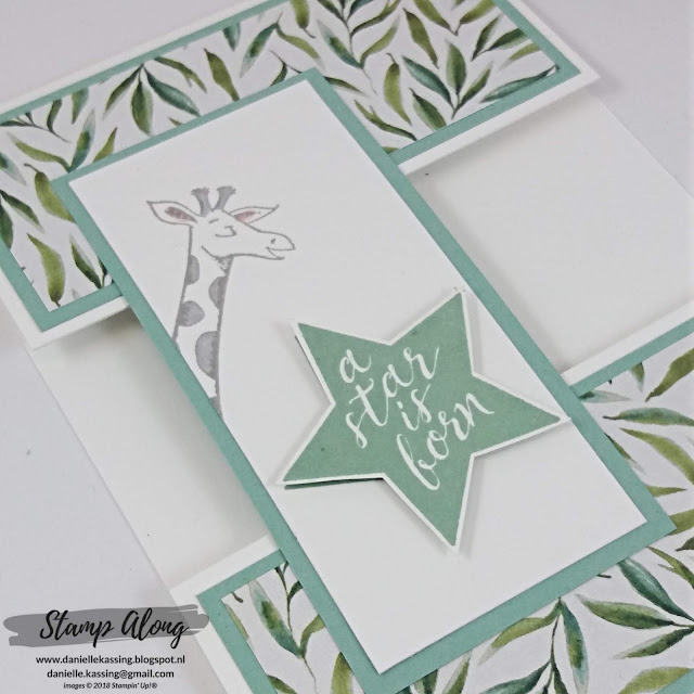 Stampin' Up! Frosted Floral Specialty Designer Series Paper en Animal Outing