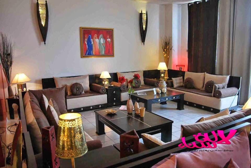تصاميم الصالونات المغربية