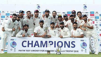 Pay Back time as India Thrashed England by an Innings and 75 runs to seal 4-0 Series Win