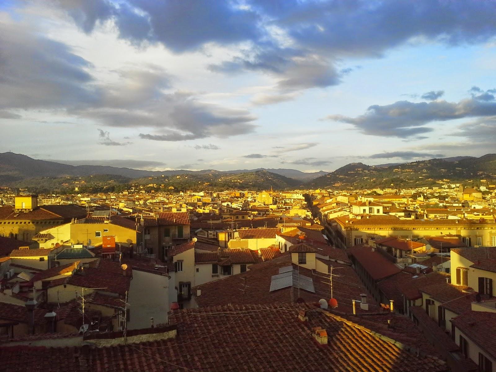 Curiosità Di Firenze Veduta Delle Colline Di Fiesole Dalle