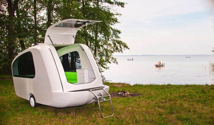 Camping Lovers Are Falling For This 'Amphibious' Camper That Allows You To Camp On Both Land And Water