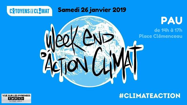 Marche pour le climat Pau Béarn Pyrénées