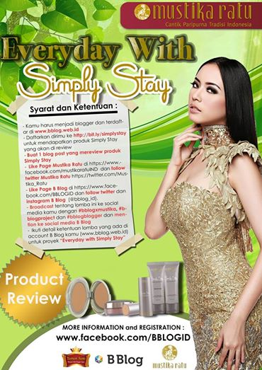 Everyday with Simply Stay by Mustika Ratu Blogging Competition