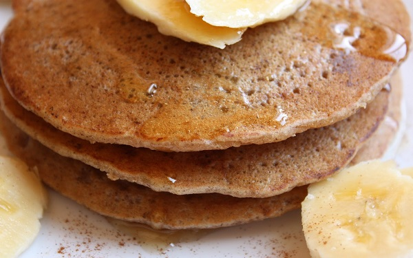 Panqueca doce sem Glúten e Lactose