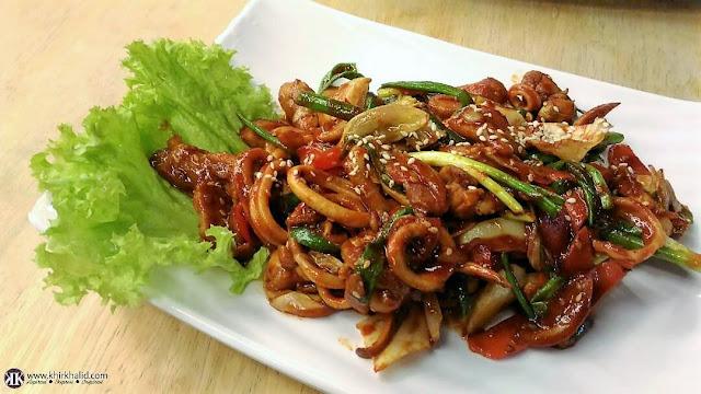 Makanan Korea, Hwa Ga Empire Gallery Heritage Lane, Damansara Perdana,