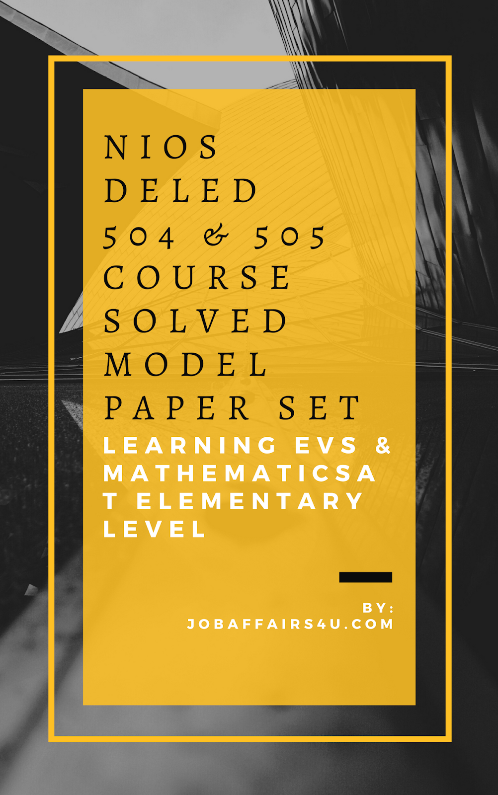 fully solved nios deled previous year question paper pdf download