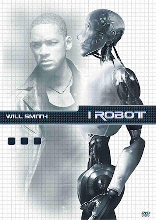 Poster Of I, Robot In Dual Audio Hindi English 300MB Compressed Small Size Pc Movie Free Download Only At worldfree4u.com