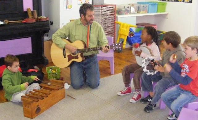 Music play for Extra mural program