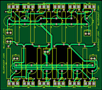 Layout final transistor amplifier