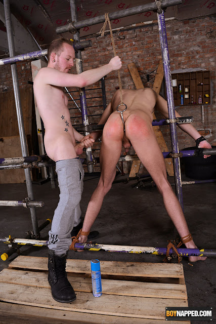 image Sean taylor amp billy rock have kinky bondage sex in a dungeon
