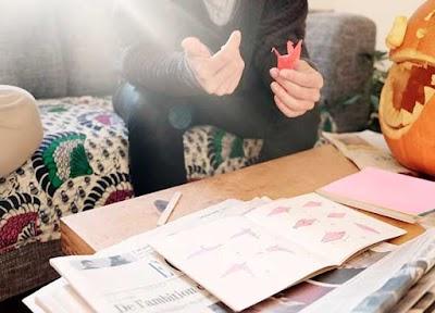 Manualidades realizadas con papel o cartón