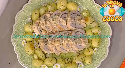 Arrosto di tacchino alle nocciole ed erbette ricetta Messeri da Prova del Cuoco