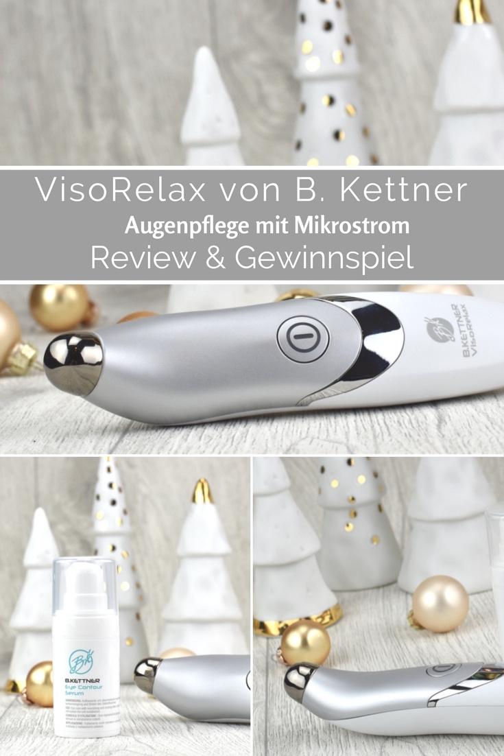 VisoRelax Augenpflegegerät von B. Kettner - Review und Erfahrungsbericht inkl. Gewinnspiel