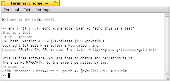 bash updated in hrev47952