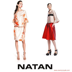 Queen Maxima Style NATAN Dresses and NATAN Pumps