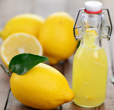 warm lemon water morning
