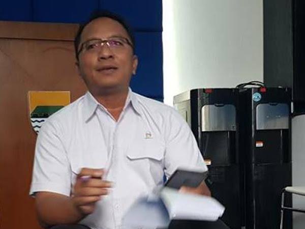 Kepala Bidang Umum PD Pasar Bermartabat Hendra Setiawan