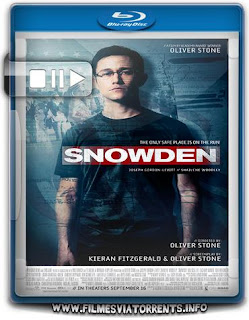 Snowden: Herói ou Traidor Torrent - BluRay Rip 720p e 1080p Dual Áudio