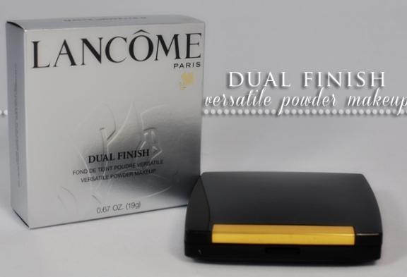 Lancôme Dual Finis Versatile Powder Makeup - Bedak padat yg bagus tahan lama