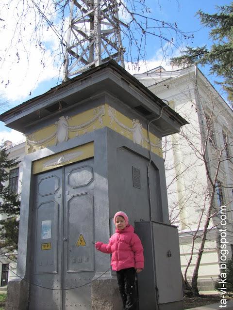 Геокешинг: столетняя подстанция