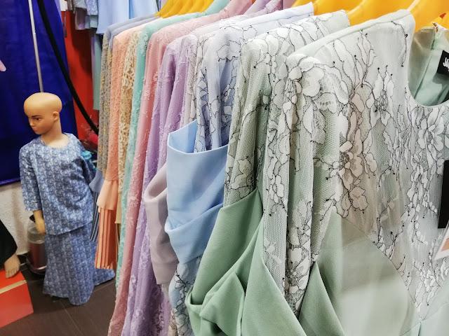 Koleksi Baju Kurung Lace Busana Jamilah