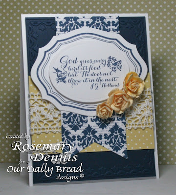 Our Daily Bread Designs, Quote Collection 2, Eternity, Elegant Oval die