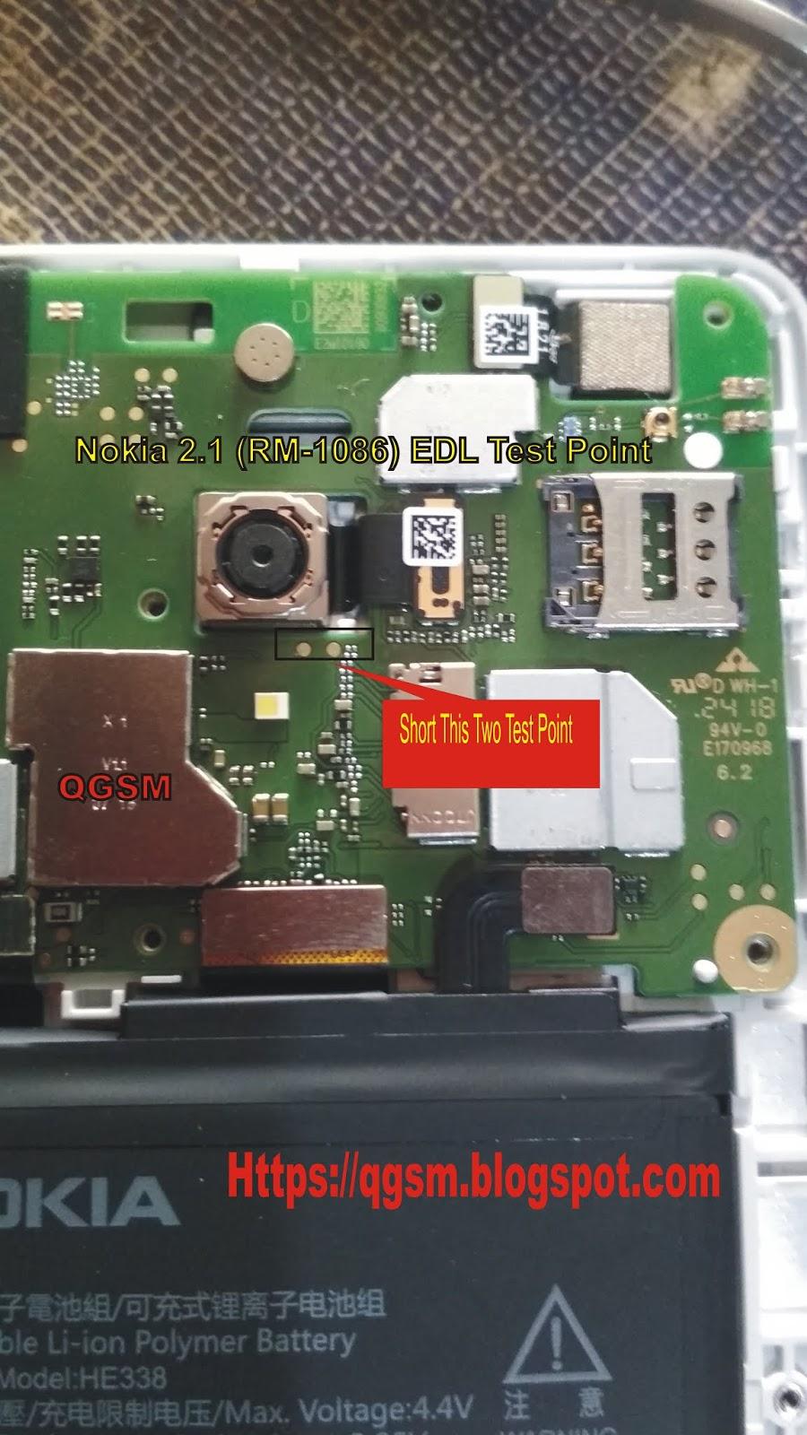 Nokia 2 1 Test Point - QGSM