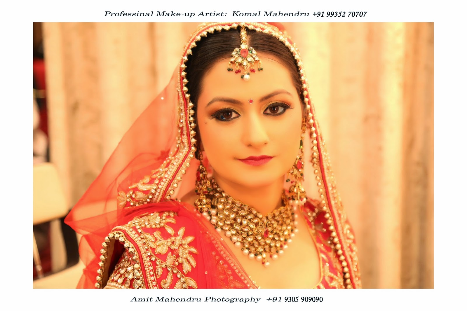 komal mahendru's professional makeup - lucknow, india