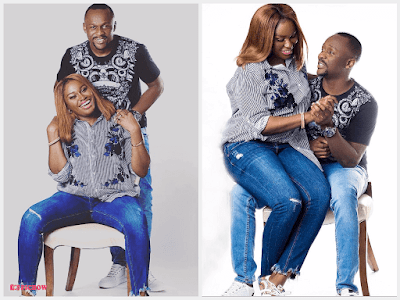 Comedian Ushbebe & wife Annette celebrate 4th Wedding Anniversary (Photos)