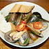 Green Lip Mussels in Tomato and Capsicum Sauce