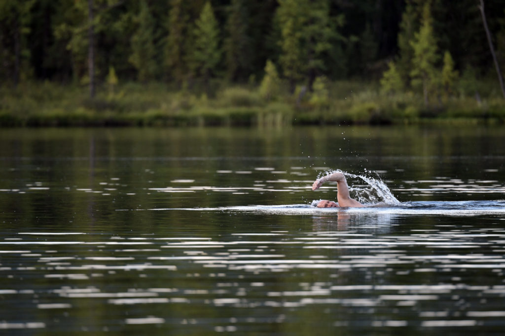 Russian President Putin Goes Swimming, Fishing, Sunbathing And More In Siberia