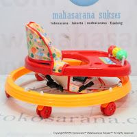 Tajimaku BW307 6 Wheel Baby Walker