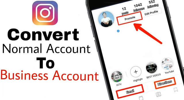 Convert Normal Instagram Account into Business Account