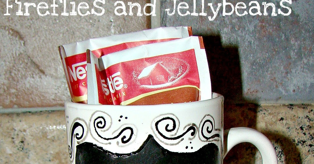Fireflies and Jellybeans: Doodle Chalkboard Mugs