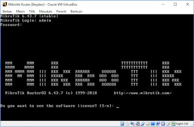 Login Mikrotik RouterOS
