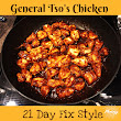 General Tso's 21 Day Fix Chicken