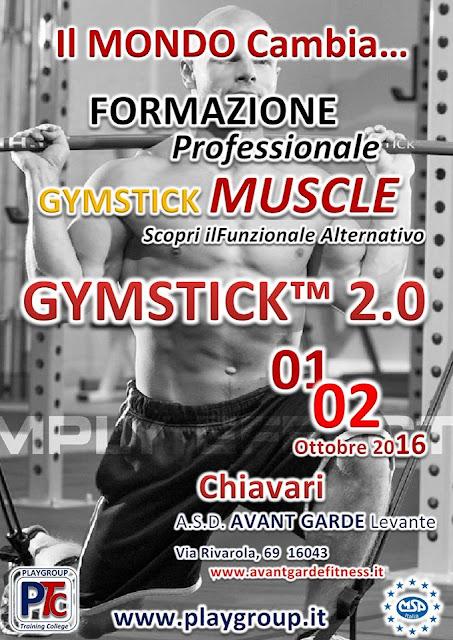 Formazione Professionale Gymstick Muscle 2.0 Secondo Livello, 1-2 ottobre 2016 a Chiavari, Genova