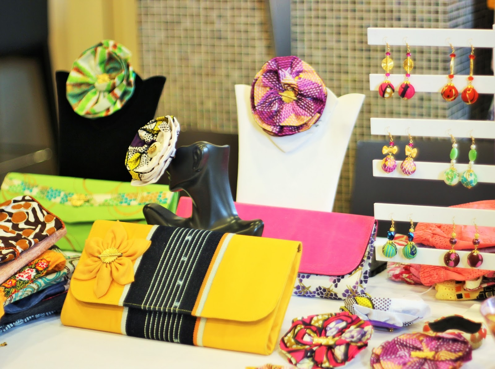 MY REPORT: KUWALA POP UP HOLIDAY EVENT FEATURING AFRICAN INSPIRED PIECES