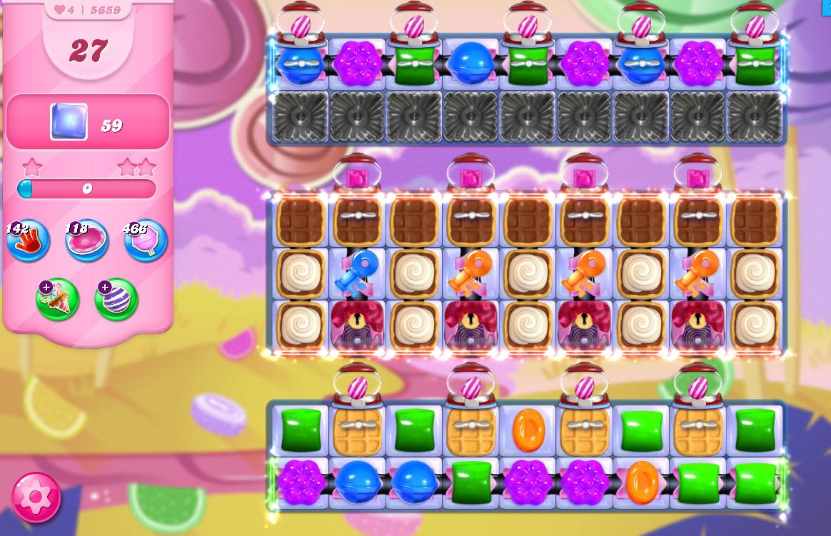 Candy Crush Saga level 5659