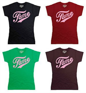 Offiical Fame Logo Organic T-shirts (7 Colours available)
