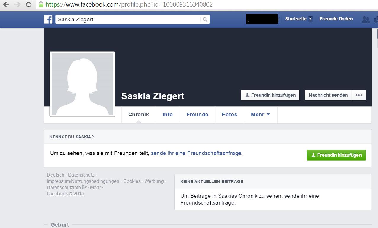 facebook als freundin hinzufügen