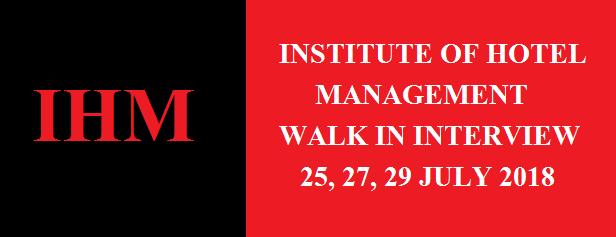 IHM Recruitment 2018